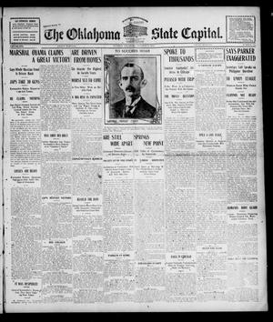 Primary view of object titled 'The Oklahoma State Capital. (Guthrie, Okla.), Vol. 16, No. 150, Ed. 1 Friday, October 14, 1904'.