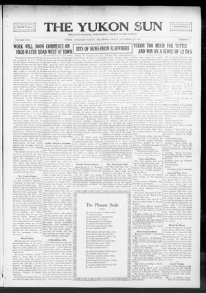 Primary view of The Yukon Sun (Yukon, Okla.), Vol. 23, No. 41, Ed. 1 Friday, September 17, 1915