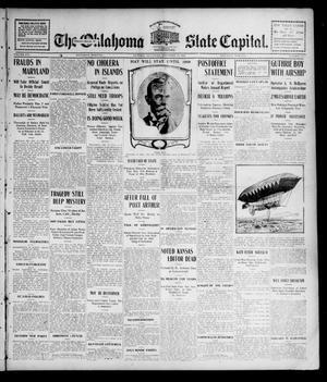 Primary view of The Oklahoma State Capital. (Guthrie, Okla.), Vol. 16, No. 175, Ed. 1 Saturday, November 12, 1904