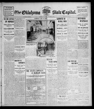Primary view of object titled 'The Oklahoma State Capital. (Guthrie, Okla.), Vol. 16, No. 193, Ed. 1 Saturday, December 3, 1904'.