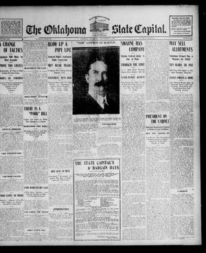 Primary view of object titled 'The Oklahoma State Capital. (Guthrie, Okla.), Vol. 16, No. 207, Ed. 1 Tuesday, December 20, 1904'.