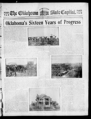 Primary view of object titled 'The Oklahoma State Capital. (Guthrie, Okla.), Vol. 17, No. 2, Ed. 2 Sunday, April 23, 1905'.