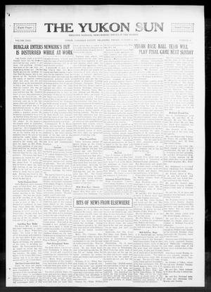 Primary view of The Yukon Sun (Yukon, Okla.), Vol. 23, No. 43, Ed. 1 Friday, October 1, 1915
