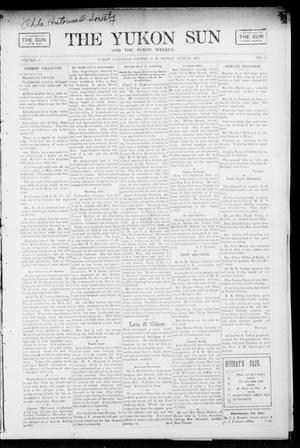Primary view of object titled 'The Yukon Sun And The Yukon Weekly. (Yukon, Okla. Terr.), Vol. 13, No. 25, Ed. 1 Friday, June 23, 1905'.