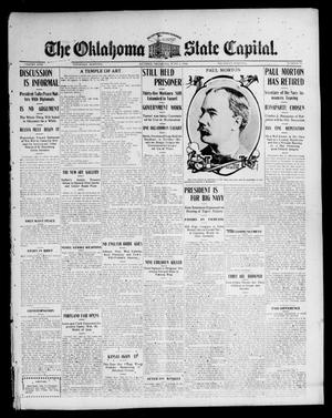 Primary view of object titled 'The Oklahoma State Capital. (Guthrie, Okla.), Vol. 17, No. 35, Ed. 1 Thursday, June 1, 1905'.