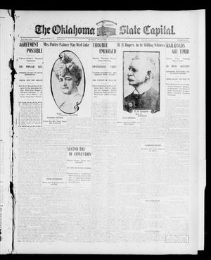 Primary view of object titled 'The Oklahoma State Capital. (Guthrie, Okla.), Vol. 17, No. 276, Ed. 1 Thursday, March 15, 1906'.