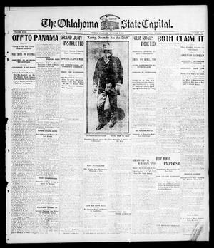 Primary view of object titled 'The Oklahoma State Capital. (Guthrie, Okla.), Vol. 18, No. 172, Ed. 1 Friday, November 9, 1906'.