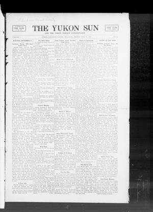 Primary view of object titled 'The Yukon Sun And The Yukon Herald Consolidated. (Yukon, Okla.), Vol. 15, No. 29, Ed. 1 Friday, July 19, 1907'.