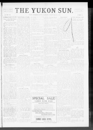 Primary view of object titled 'The Yukon Sun. (Yukon, Okla.), Vol. 19, No. 12, Ed. 1 Friday, March 3, 1911'.
