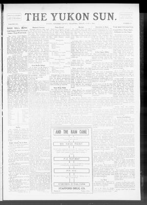 Primary view of object titled 'The Yukon Sun. (Yukon, Okla.), Vol. 19, No. 25, Ed. 1 Friday, June 2, 1911'.