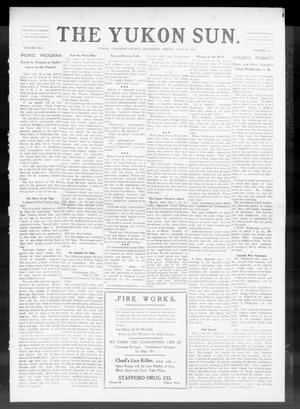 Primary view of object titled 'The Yukon Sun. (Yukon, Okla.), Vol. 19, No. 29, Ed. 1 Friday, June 30, 1911'.