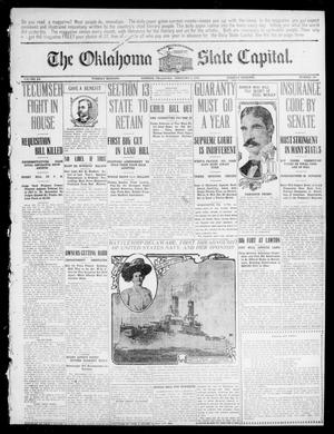 Primary view of object titled 'The Oklahoma State Capital. (Guthrie, Okla.), Vol. 20, No. 264, Ed. 1 Tuesday, February 2, 1909'.