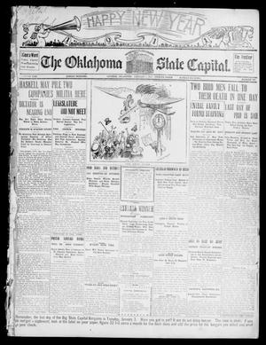 Primary view of object titled 'The Oklahoma State Capital. (Guthrie, Okla.), Vol. 22, No. 219, Ed. 1 Sunday, January 1, 1911'.