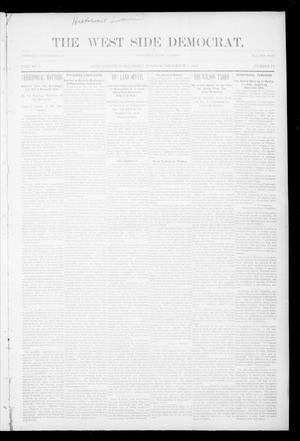 Primary view of object titled 'The West Side Democrat. (Enid, Okla.), Vol. 1, No. 11, Ed. 1 Tuesday, December 5, 1893'.