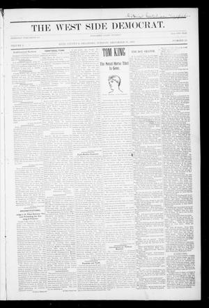 Primary view of The West Side Democrat. (Enid, Okla.), Vol. 1, No. 13, Ed. 1 Tuesday, December 19, 1893