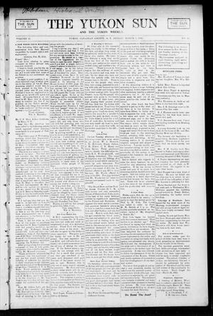 Primary view of object titled 'The Yukon Sun And The Yukon Weekly. (Yukon, Okla. Terr.), Vol. 13, No. 10, Ed. 1 Friday, March 3, 1905'.
