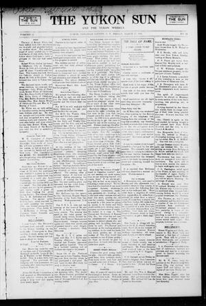 Primary view of object titled 'The Yukon Sun And The Yukon Weekly. (Yukon, Okla. Terr.), Vol. 13, No. 12, Ed. 1 Friday, March 17, 1905'.