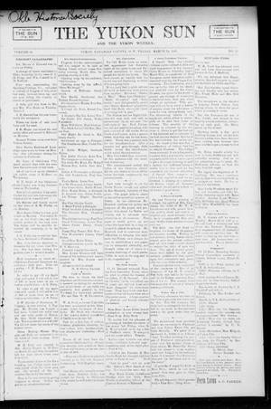 Primary view of object titled 'The Yukon Sun And The Yukon Weekly. (Yukon, Okla. Terr.), Vol. 13, No. 13, Ed. 1 Friday, March 24, 1905'.