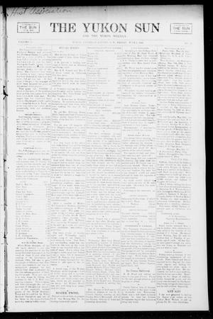 Primary view of object titled 'The Yukon Sun And The Yukon Weekly. (Yukon, Okla. Terr.), Vol. 13, No. 22, Ed. 1 Friday, June 2, 1905'.