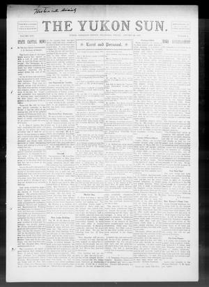 Primary view of The Yukon Sun. (Yukon, Okla.), Vol. 17, No. 4, Ed. 1 Friday, January 29, 1909