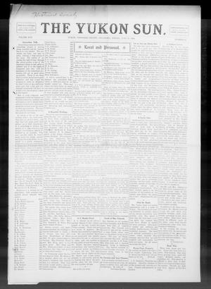 Primary view of object titled 'The Yukon Sun. (Yukon, Okla.), Vol. 17, No. 25, Ed. 1 Friday, June 25, 1909'.