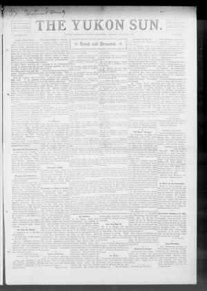 Primary view of object titled 'The Yukon Sun. (Yukon, Okla.), Vol. 17, No. 32, Ed. 1 Friday, August 13, 1909'.