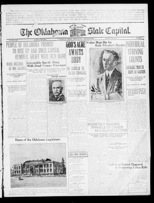 Primary view of object titled 'The Oklahoma State Capital. (Guthrie, Okla.), Vol. 21, No. 310, Ed. 1 Sunday, April 24, 1910'.