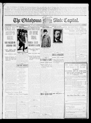 Primary view of object titled 'The Oklahoma State Capital. (Guthrie, Okla.), Vol. 21, No. 312, Ed. 1 Wednesday, April 27, 1910'.