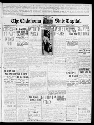 Primary view of object titled 'The Oklahoma State Capital. (Guthrie, Okla.), Vol. 22, No. 169, Ed. 1 Saturday, November 5, 1910'.