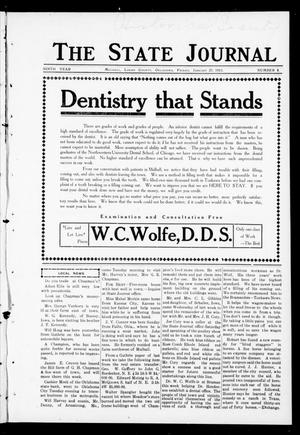 Primary view of object titled 'The State Journal (Mulhall, Okla.), Vol. 9, No. 8, Ed. 1 Friday, January 27, 1911'.