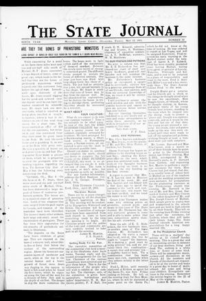 Primary view of object titled 'The State Journal (Mulhall, Okla.), Vol. 9, No. 23, Ed. 1 Friday, May 12, 1911'.