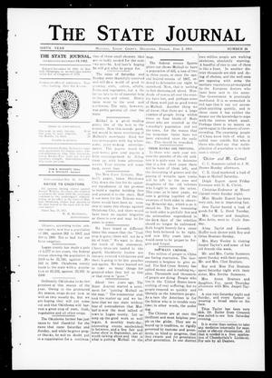 Primary view of object titled 'The State Journal (Mulhall, Okla.), Vol. 9, No. 26, Ed. 1 Friday, June 2, 1911'.