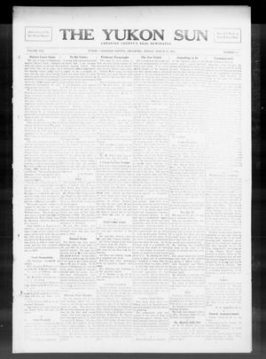 Primary view of object titled 'The Yukon Sun (Yukon, Okla.), Vol. 21, No. 16, Ed. 1 Friday, March 28, 1913'.
