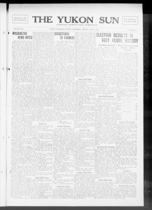 Primary view of object titled 'The Yukon Sun (Yukon, Okla.), Vol. 21, No. 17, Ed. 1 Friday, April 4, 1913'.