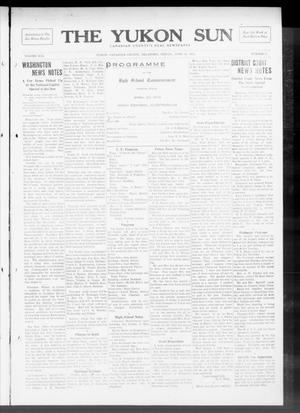 Primary view of object titled 'The Yukon Sun (Yukon, Okla.), Vol. 21, No. 18, Ed. 1 Friday, April 11, 1913'.