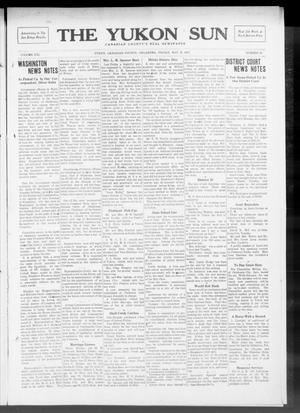 Primary view of object titled 'The Yukon Sun (Yukon, Okla.), Vol. 21, No. 23, Ed. 1 Friday, May 16, 1913'.