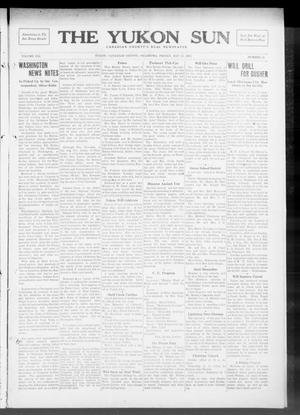 Primary view of object titled 'The Yukon Sun (Yukon, Okla.), Vol. 21, No. 24, Ed. 1 Friday, May 23, 1913'.
