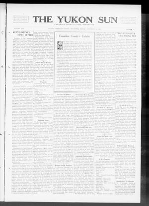 Primary view of object titled 'The Yukon Sun (Yukon, Okla.), Vol. 21, No. 40, Ed. 1 Friday, September 12, 1913'.