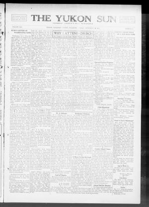 Primary view of object titled 'The Yukon Sun (Yukon, Okla.), Vol. 21, No. 41, Ed. 1 Friday, September 19, 1913'.
