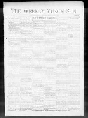 Primary view of object titled 'The Yukon Sun (Yukon, Okla.), Vol. 21, No. 47, Ed. 1 Friday, October 31, 1913'.