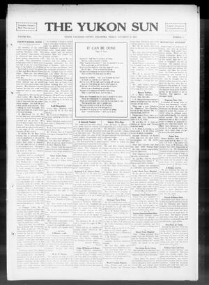Primary view of object titled 'The Yukon Sun (Yukon, Okla.), Vol. 21, No. 51, Ed. 1 Friday, November 28, 1913'.