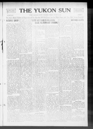 Primary view of object titled 'The Yukon Sun (Yukon, Okla.), Vol. 22, No. 7, Ed. 1 Friday, January 23, 1914'.