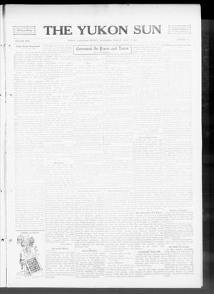 Primary view of object titled 'The Yukon Sun (Yukon, Okla.), Vol. 22, No. 19, Ed. 1 Friday, April 17, 1914'.