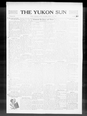 Primary view of object titled 'The Yukon Sun (Yukon, Okla.), Vol. 22, No. 21, Ed. 1 Friday, May 1, 1914'.