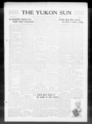 Primary view of object titled 'The Yukon Sun (Yukon, Okla.), Vol. 22, No. 29, Ed. 1 Friday, June 26, 1914'.