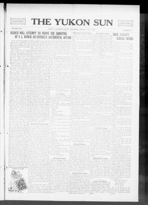 Primary view of object titled 'The Yukon Sun (Yukon, Okla.), Vol. 22, No. 30, Ed. 1 Friday, July 3, 1914'.