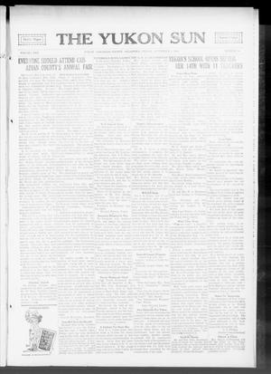 Primary view of object titled 'The Yukon Sun (Yukon, Okla.), Vol. 22, No. 39, Ed. 1 Friday, September 4, 1914'.