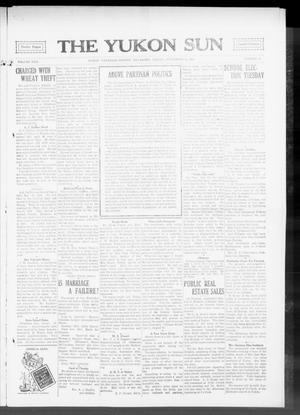 Primary view of object titled 'The Yukon Sun (Yukon, Okla.), Vol. 22, No. 41, Ed. 1 Friday, September 18, 1914'.