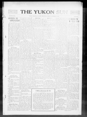Primary view of object titled 'The Yukon Sun (Yukon, Okla.), Vol. 23, No. 3, Ed. 1 Friday, December 25, 1914'.