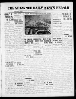 Primary view of object titled 'The Shawnee Daily News-Herald (Shawnee, Okla.), Vol. 20, No. 115, Ed. 1 Wednesday, January 27, 1915'.